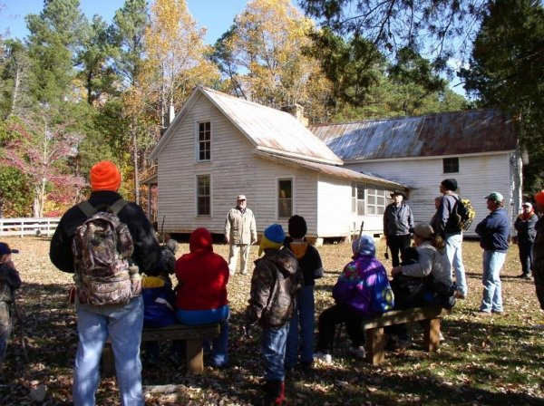 Rockcliff Farm is a frequent hiking destination for cub scouts and girl scouts.